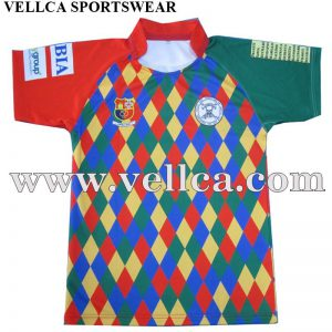 Custom Sublimation Team Set Custom Rugby Jersey