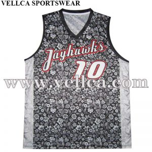 Custom Graphic Logo University Basketball Uniforms