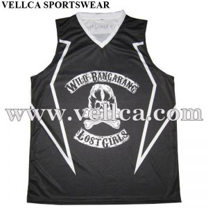 Factory Price Sleveeless Basketball Wear 100% Polyester Sportwear