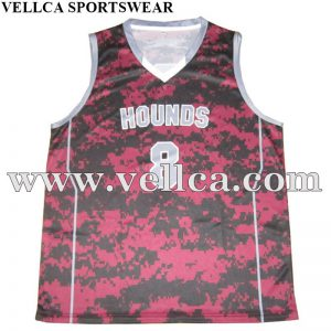 No MOQ Sublimated Basketball Jersey Wholesale Basketball Uniform