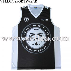 Custom Style Basketball Wear Basketball Vest Sublimated Basketball Shirt