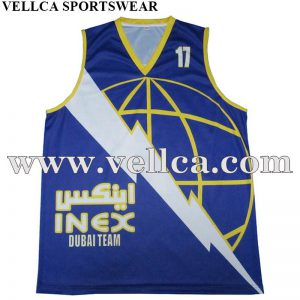 100% Polyester Quick Dry International Custom Logo Design Basketball Jersey