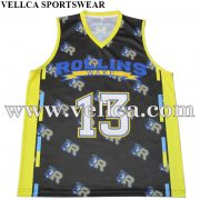Polyester Sublimation Printing Basketball Jersey Latest Design Custom Basketball Jersey