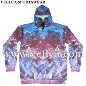 Custom Sublimation Hoodie Jumper Colorful Hoodie Tracksuit Oversize