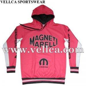 Custom Made Mens Printed Sports Hoodies with Heavy Thick Fleece Hoody