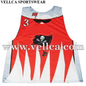 Cheap Custom Sublimation Lacrosse Jerseys Reversible Pinny