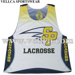 Cheap Custom Lacrosse Pinnies Sublimation Lacrosse Uniforms
