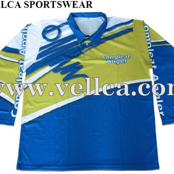 Custom Sublimation Tournament Performance Fishing Jerseys Suppliers