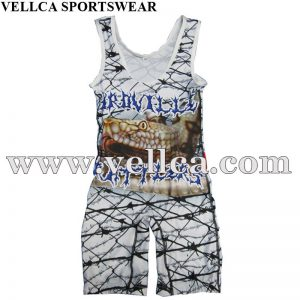 Custom Wrestling Singlet Builder Factory In China