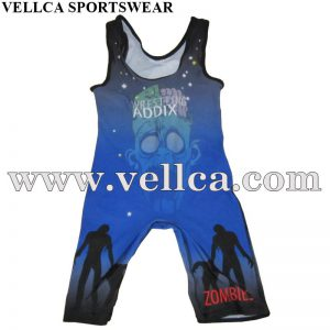 Professional Custom Sublimation Wrestling Singlets Wrestling Uniforms
