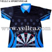 Custom Dart Design Shirts USA Short Sleeve Dart Polo Shirts