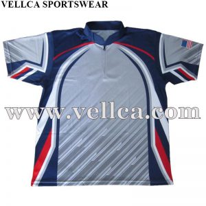 China Factory Customized Design 100% Polyester Custom Darts Team Jerseys
