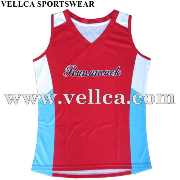 Wholesale Custom Design Printed Gym Racerback Vest and Bodybuilding Clothing Singlets