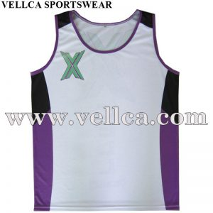 Customized Design Marathon Tops Custom Running Vest Marathon Running Singlets