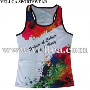 Factory Performance Technical Custom Running Singlet and Vest