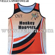 Dye Sublimated Running Vests for Sporting Events