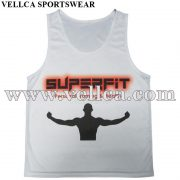 Sublimated Running Vests Running Club Tops
