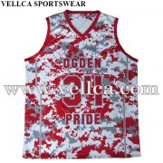 Full Dye Sublimated Reversible Basketball Uniforms