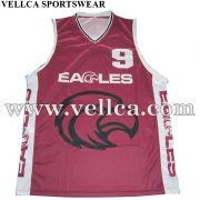 Custom Sublimation Basketball Uniforms Produced For Australia