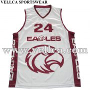 Custom Sublimated Basketball Singlets and Team Gear Basketball Jerseys