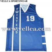 Design Custom Sublimated Reversible Basketball Jerseys