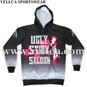 Custom Factory Made Wholesale Price Custom Artwork Design Dye Sublimation Sports Hoody