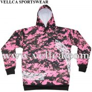 Custom Sublimated Hooded Sweater Sublimated Volleyball Hoodies