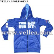 OEM Sport Hoodies Custom Sublimation Printed Man Zip Up Hoody