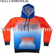 Custom Sublimated All Over Printed Hoodies