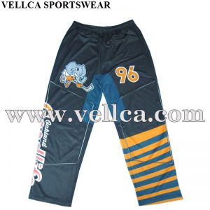 Wholesale Cheap Custom Sublimated Inline Hockey Pants