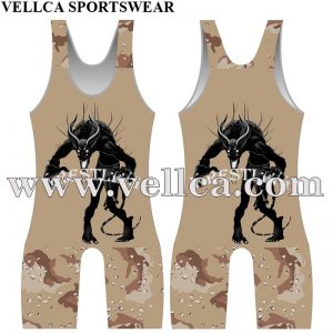 Customized Compression Gear Mens Wrestling Singlet