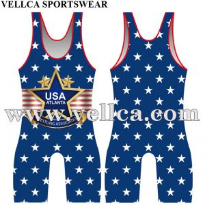 Sublimated Printing Wrestling Gear Wrestling Equipment And Singlets