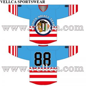 Custom Design Artwork For Sublimated Ice Hockey Jereseys