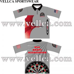 Sublimation Dye Print League Dart Jerseys