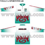 Sublimated Fishing Shirts With Custom Logo and Graphics