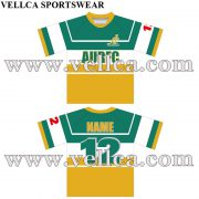 Custom Sublimated Australian Rugby League Jerseys