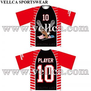Cheap Custom 100% Polyester Dye Sublimation Printing Lacrosse Apparel