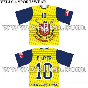 Cheap Factory Custom Sublimated Lacrosse Uniforms