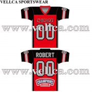 Custom Sublimated USA Football Uniforms & Jerseys