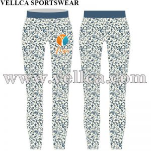Sublimated Yoga Leggings With Custom Logo
