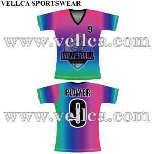 Customized Design Youth Volleyball Uniforms Online