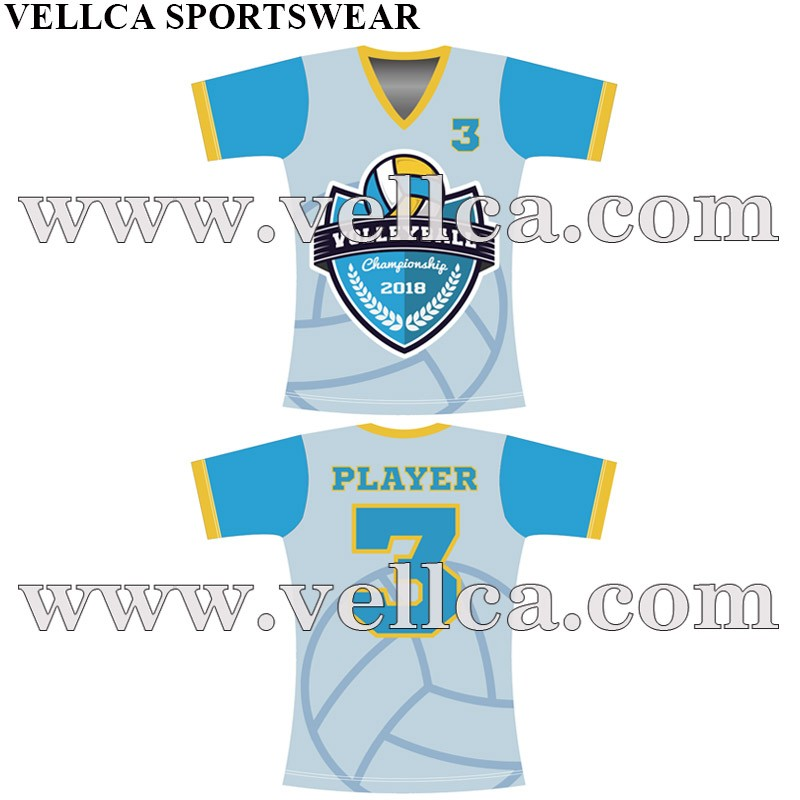 Custom Printed Volleyball Uniforms Voleyball Tops