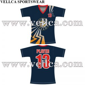 Custom Sublimated Volleyball Team Jersey Uniforms
