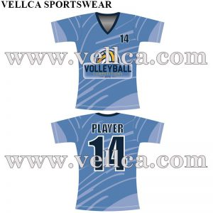 Custom Sublimated Volleyball Uniforms