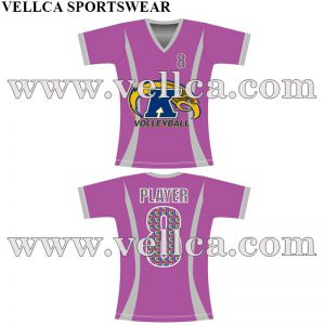 Womens and Mens Sublimation Volleyball Jerseys