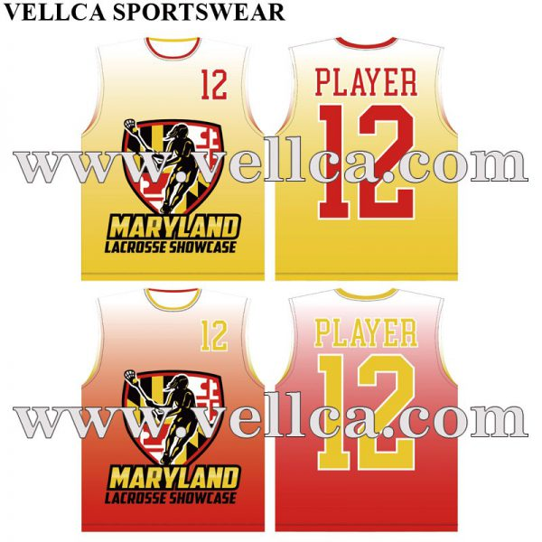 Sublimated Reversible Lacrosse Jersey Free Artwork