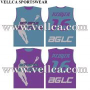 Free Design Custom Sublimated Reversible Lacrosse Jerseys