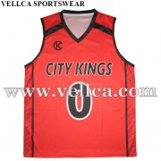 Custom Team Basketball Jersey with 100% Microfiber Fabric Dry Fit