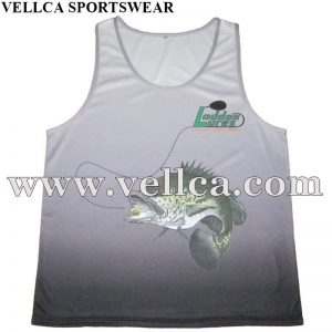 Breathable Custom Logo Cheap Sublimated Wholesale Running Singlet Printed