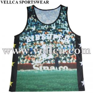 Outdoor Sports Gym Racerback Running Vest Fitness Jogging Yoga Singlet